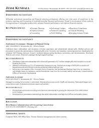 Brilliant Resume Of Accountant Prepasaintdenis Com
