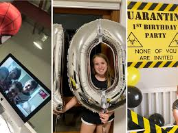 Extend birthday wishes to your loved ones on a video call. That Was Really Really Special Lockdown Teaches Parents The Joy Of Basic Birthdays Australian Lifestyle The Guardian
