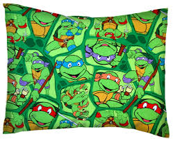 Percale Pillow Case - Ninja Turtles