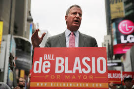 Image result for bill deblasio