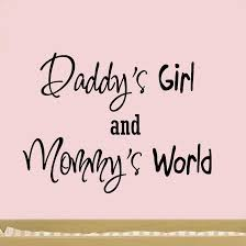 daddy s girl and mommy s world nursery wall art quote vinyl decal decor baby  on baby girl wall art quotes with nursery wall stickers nursery wall decor