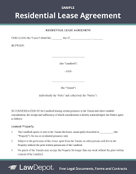 A lease subordination agreement can help protect the interests of a tenant, so that if there is a transfer of ownership of the property, they can continue to pay the rent and accept the new owner as. Residential Lease Agreement Free Rental Lease Form Us Lawdepot
