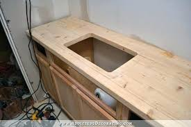 wood kitchen wide plank ikea solid countertop countertops