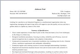 Chemical Resume Objective Piqqus Com