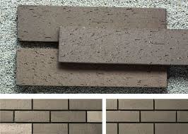 outside brick veneer wall panels clay wall building material with rough surface