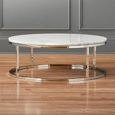smart round marble top coffee table