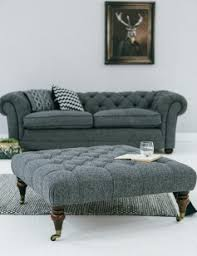 gray tweed sofa. Interesting Tweed Abbey Slate Tweed Footstool Lifestyle Intended Gray Sofa W
