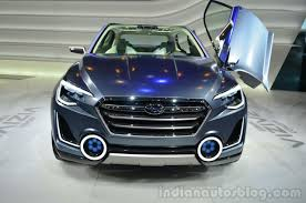Subaru Viziv 2 concept front - Indian Autos blog