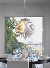 contemporary dining room pendant lighting. Unique Modern Lighting. Extraordinary Dining Room Interior Design With Pendant Lighting In White Contemporary M