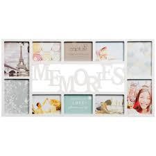 memories multi aperture photo frame 10pc