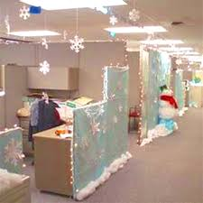christmas office decorating themes. Christmas Office Decorating Ideas Splendid Model Cubicle Decorations Themes