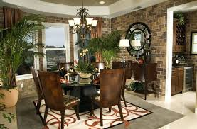 round table square rug dining room