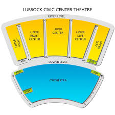 Cactus Theater Lubbock Seating Chart Lubbock Memorial Civic Center Theater 2019 Seating Chart