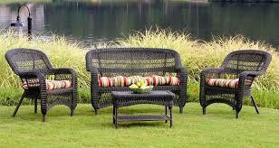 rattan garden furniture outdoor design with used wicker patio ideas 2