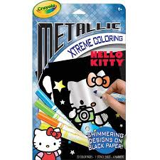 Easy and free to print hello kitty coloring pages for children. Upc 071662500245 Crayola Metallic Extreme Hello Kitty Coloring Pages And Markers Upcitemdb Com