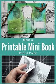 Make Printable Mini Books Thicketworks 3