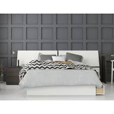 Shop Nook 3 Piece Bedroom Set, Ebony & White - Free Shipping Today ...