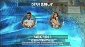 Luca Vismara e Marina La Rosa sono al televoto - L'Isola dei Famosi Video