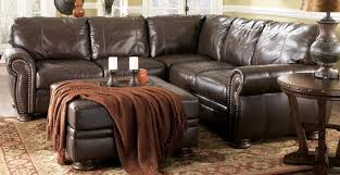 Ashley 205 leather sectional