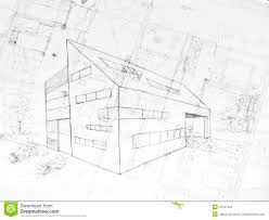 modern architecture drawing. Delighful Architecture Inspiration Ideas Modern Architectural Drawings And Drawing Od A  Building Architecture Plans Stock Intended W