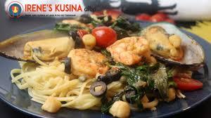 Easy Seafood Pasta Ala Resto - YouTube