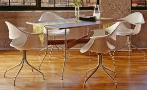 Nelson™ Swag Leg Rectangular Dining Table - hivemodern.com
