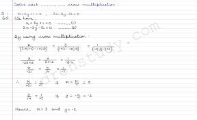 linear equations in two variables ex 3c r s aggarawal dronstudy com