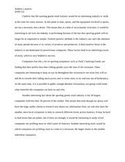 good to great essay andrew lazarow som m team delta force  2 pages industry project proposal
