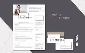 Best Software To Design Resume Jack Martins Interior Designer Resume Template 66437
