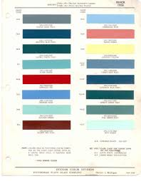 Paint Chips 1956 Buick