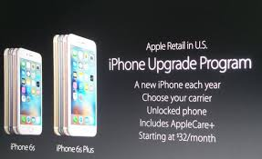 iphone upgrade program. iphone 6s, 6s plus upgrade plan iphone program