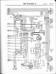 rambler wiring diagrams the old car manual project 1965 rambler 6 american right page