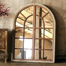 arched window mirror wall art pane uk