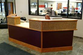 office reception table. Interesting Reception Reception Office Desk Modern Throughout  Table I