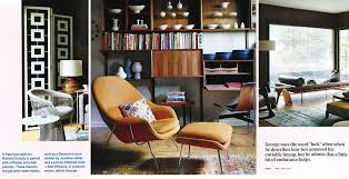 dwell modern lounge furniture. Dwell Features Knoll Designs In Mid-Century Modern Home |  News Dwell Modern Lounge Furniture