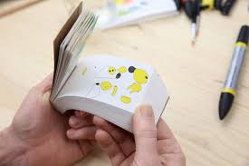 Flip Book With Photos Molecularis Animated Coloring Flip Book Gadget Flow
