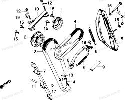 Honda motorcycle 1980 oem parts diagram for cam chain tensioner partzilla