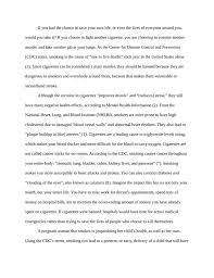 essay on cigarette smoking cigarette smoking should be banned kibin projects to try