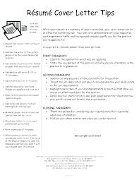 Cover Letter Tips And Examples Resume Letter Collection
