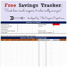 Savings Template Project Tracking Sheet Template And Free Savings Tracker