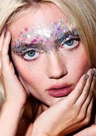 face dots and paint festival makeup ideas festival glitter tips diy tutorials