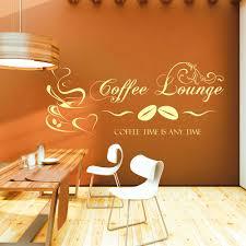 Wandtattoo Coffee Lounge Kaffee Motiv Für Küche Und Esszimmer