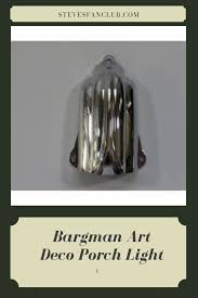 Bargman Rv Porch Light Bargman Travel Trailer Porch Light Art Deco Design Found