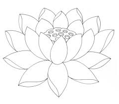 Small Picture Lotus Flower Coloring Pages Printable Flower Coloring Pages