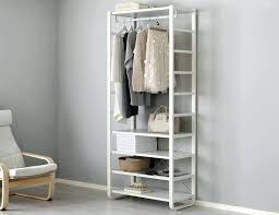 small clothes closet system is perfect for organizing anything that fit into your small closet or