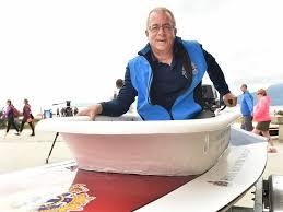 loyal nanaimo bathtub society commodore greg peacock is ready to tub