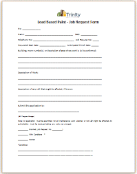 Maintenance Work Order Form Amazing MaintenanceRenovation Permit System Policy And Procedures Manual 48