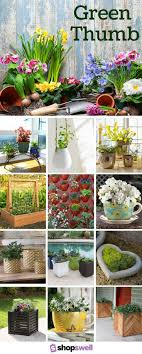 Flower Planter Design Ideas Green Thumb 47 Garden Planters Youll Fall In Love With