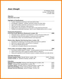 Line Cook Resume Example Line Cook Resume Sample Skillsles Lead Samples Objective Examples 14