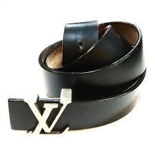 louis vuitton black leather belt size 34 275 00 prev